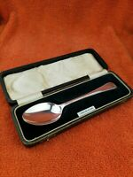 Antique Sterling Silver Hallmarked Cased Spoon 1937 Birmingham, Arthur Price & C