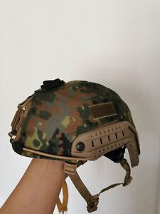 IDZ ES fast helmet cover ,Flecktarn,size XL