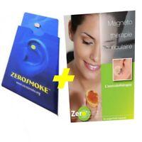 Aimant Anti Tabac ZEROSMOKE + aimant perte de poids ZERODIET