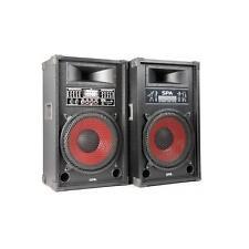 Altavoz activo parlante PA evento fiesta casa DJ espectáculos portable -B-STOCK