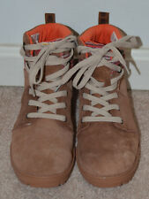Toms Girls Brown Suede Summit Lace Up Waterproof Boots Size: Youth 4.5 10009044