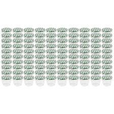 100 Jars 230ml Vert Pots de Confiture Chute Verre Bocal Pot Conservation en