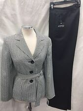 KASPER PANT SUIT/NEW WITH TAG/LINED/SIZE 14/INSEAM32 '/RETAIL$200/