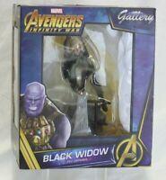 "Marvel Gallery Avengers: Infinity War Black Widow 9"" PVC Statue Figure Diorama"