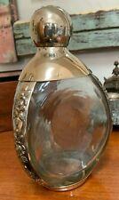 Fine vintage Maciel sterling silver and glass decanter