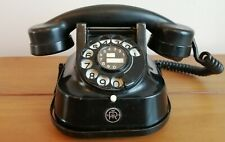 Bell RTT 56 B Rotary Black Telephone 1950's Converted Vintage