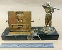 Vintage 1957 US Army 19th Ordinance Battalion Perpetual Calendar Sharpshooter