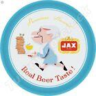 "JAX BEER 11.75"" ROUND METAL SIGN"