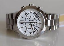 MICHAEL KORS Damen Armbanduhr Uhr Damenuhr Silber MK6127 Runway Chronograph