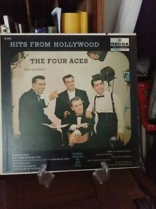 "Vintage First Press THE FOUR ACES ""Hits From Hollywood"" LP Decca Records (1958)"