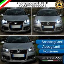 KIT LED VW GOLF 5 ANABBAGLIANTI ABBAGLIANTI LUCI POSIZIONE CANBUS 3.0 BIANCO