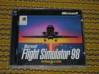 Microsoft Flight Simulator 98 PC Game  EXCELLENT Pre Owned Condition!