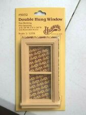 Window Double Hung H5032, 1:12 Dollhouse wooden Houseworks