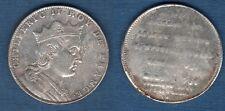 Série des Rois de France - Jeton argent d'époque - Chilpéric II 672 - 721
