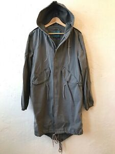 Warriors of Radness WOR Fishtail Parka - Made in USA surf / skate jacket - Sz M