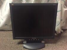 "Viewsonic 17"" Monitor with VGA. Model VA702b."
