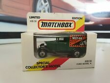MATCHBOX - FORD VAN - WEETABIX - SMALL SCALE - 'RARE BOXED'- 1981 - MB38