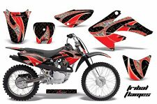AMR Racing Honda Graphic Kit Bike Decal CRF 70 Decal MX Parts 2004-2013 TRIBAL R