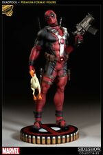 SIDESHOW NEW EXCLUSIVE DEADPOOL PREMIUM FORMAT FIGURE Marvel Bust chicken