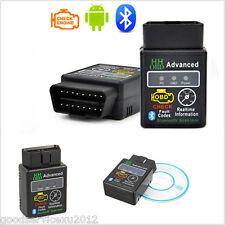 Mini ELM327 HH OBD2 Car Advanced Wireless Bluetooth 1.5 Diagnostic Scanner Tool