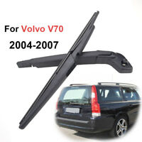 Set For Volvo XC70 V70 II 2004-2007 Rear Windshield Back Window Wiper Arm Blade
