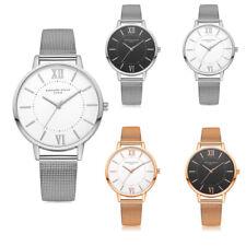 Ladies Women's Fashion Watches Casual Quartz Mesh Belt Watch Analog Wrist Watch