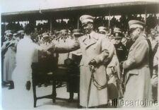 § FOTOGRAFIA DEL PRINCIPE UMBERTO CHE SALUTA UN MUTILATO DI GUERRA 1935