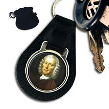 JOHN HARRISON ENGLISH CLOCKMAKER LEATHER KEYRING / KEYFOB