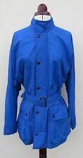 "Men's Belstaff royal blue ""Townmaster 90"" PVC coated nylon jacket,size S"