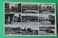 OBB 5) Bayern AK Rosenheim u. U. 1930er Max-Josephplatz Ludwigsplatz Chiemsee