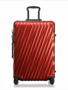 New Tumi 19 Degree Aluminum Short Trip Luggage Style 036864EVR MSRP$1,200 Red