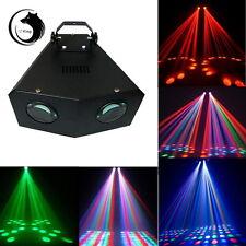 SWEEPER 2 EYES DMX512 Stage Lights 128 LED Light Party DJ Disco KTV Show US Plug
