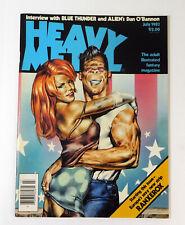 Heavy Metal July 1983/ Dan O' Bannon/ Adult Fantasy Magazine