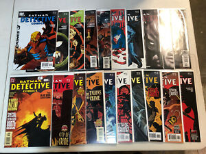 Detective Comics (2004) #800-849 (VF/NM) Complete Set Run Batman