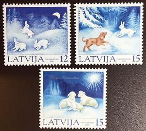 Latvia 2001 Christmas MNH