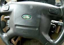 1999 00 01 02 Land Rover Discovery Driver Wheel Airbag Black Oem W/ Warranty