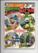 World's Finest #161 80 page giant October 1966 Superman Batman