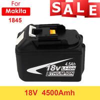 18V 4500mAh for Makita BL1845 BL1815 BL1830 Cordless Li-Ion Rechargeable Battery