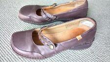 Vintage Colarado Women's Lady Jane Shoes Clogs Brown Leather shamrock Sz9.5