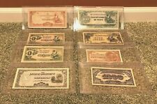 Japanese Invasion Notes Paper Money Pesos Rupees Cents