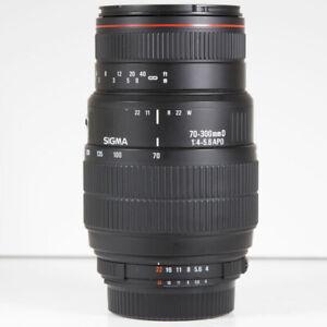Sigma 70-300mm f/4-5.6 DG APO Telephoto Zoom Lens Nikon Fit
