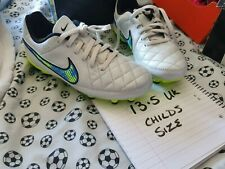 Kids nike Size 13.5 leather Football Boots