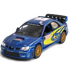 Subaru WRX STi WRC Impreza Clean Version 1/36 diecast car Petter Solberg rally