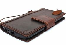 Genuine Real leather case for LG G3 id Window Credit Cards slots Magnetic Slim R