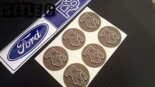 WHEEL CENTRE CAP STICKERS FOR SERIES 1 2 FORD RS TURBO RS2000 CAPRI ?