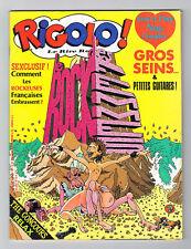 *** RIGOLO ! n° 10 _ Gros Seins & Petites Guitares ! *** 04-1984 // BE+