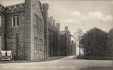 Castletown, Isle of Man. King William's College. Front of College.