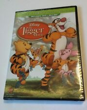 THE TIGGER MOVIE DVD + Blu-Ray Bounce-a-rrrific Special Edition NEW SEALED