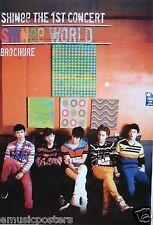"SHINEE ""SHINEE WORLD - THE 1st CONCERT"" ASIAN POSTER-Korean Boy Band,K-Pop Music"