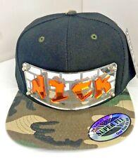Personalize Custom Snapback Hat Six Panel Flat Bill Snap Back Hat Graffiti Style